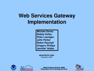 Web Services Gateway Implementation