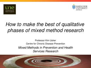 How to make the best of qualitative  phases of mixed method research