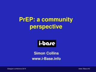 PrEP: a community perspective