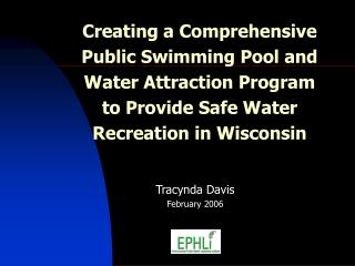 Tracynda Davis February 2006