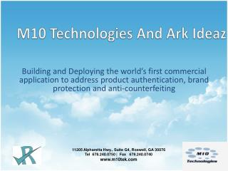 M10  Technologies And Ark Ideaz