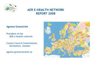 AER E-HE@LTH NETWORK REPORT 2008