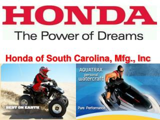 Honda of South Carolina, Mfg., Inc
