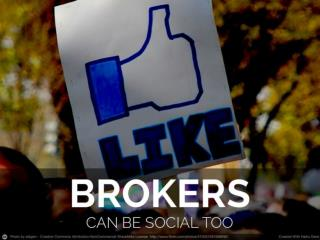 social networks for brokers