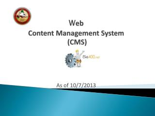 W eb  Content Management System  (CMS)