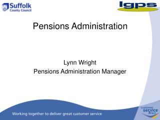 Pensions Administration