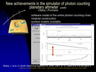 software model of the entire photon counting chain modular construction surface models available