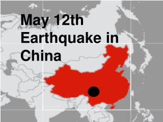 May 12th Earthquake in China