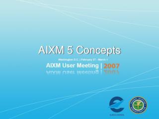 AIXM 5 Concepts