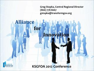 Alliance  for									Innovation