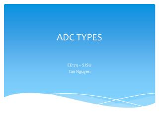 ADC TYPES
