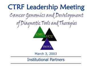 CTRF Leadership Meeting