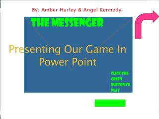 Presenting Our Game In Power Point