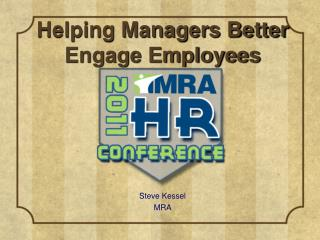 Helping Managers Better Engage Employees