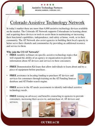 Colorado Assistive Technology Network