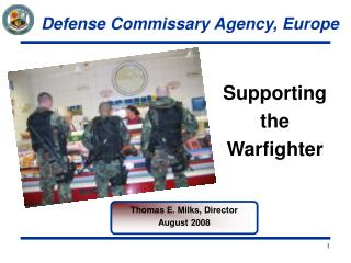 Supporting the Warfighter