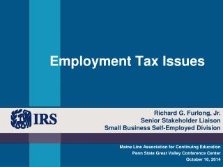 Employment Tax Issues