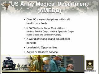 US Army Medical Department (AMEDD)