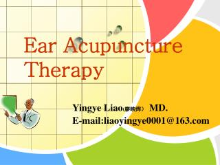 Ear Acupuncture Therapy