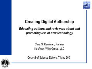 Creating Digital Authorship