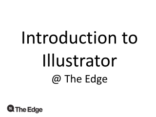 Getting Started with Illustrator