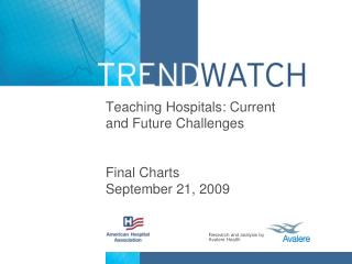 Teaching Hospitals: Current and Future Challenges Final Charts September 21, 2009