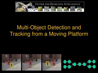 Multi-Object Detection and Tracking from a Moving Platform