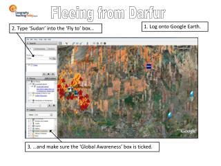 Fleeing from Darfur