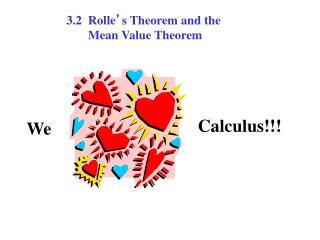 Calculus!!!