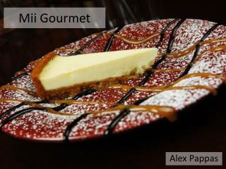 Mii Gourmet