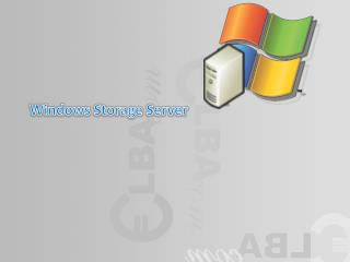 Windows Storage Server
