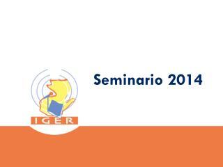 Seminario  2014