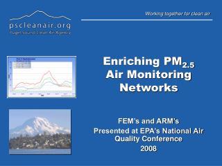 Enriching PM 2.5 Air Monitoring Networks