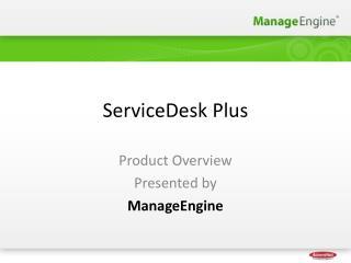 ServiceDesk Plus