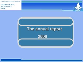 The annual report  2009