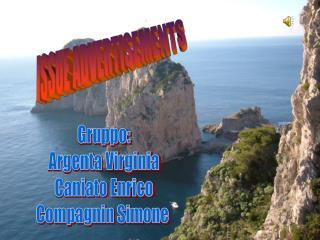 Gruppo: Argenta Virginia Caniato Enrico Compagnin Simone