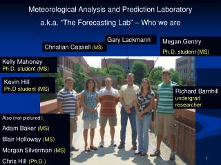 "Meteorological Analysis and Prediction Laboratory a.k.a. ""The Forecasting Lab"" – Who we are"