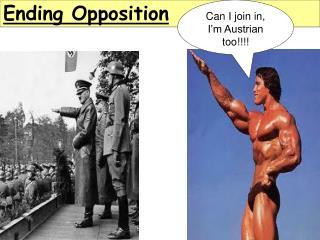 Ending Opposition