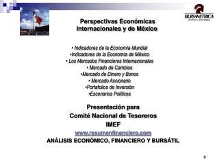 Presentación para Comité Nacional de Tesoreros IMEF resumenfinanciero