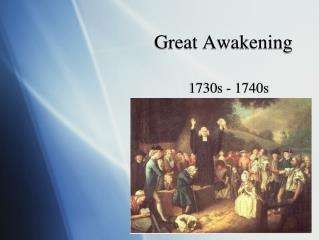 Great Awakening