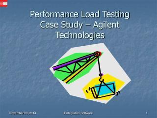 Performance Load Testing Case Study � Agilent Technologies