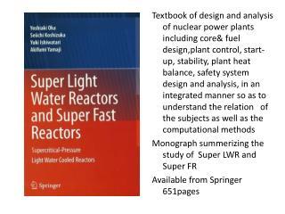 29 July book super LWR and super FR