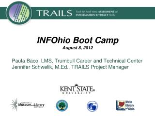INFOhio Boot Camp August 8, 2012