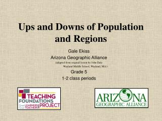 Ups and Downs of Population and Regions