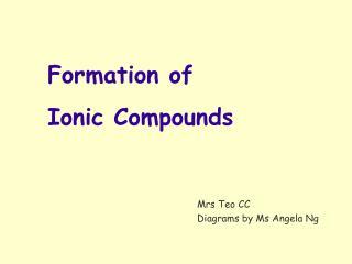 Mrs Teo CC Diagrams by Ms Angela Ng