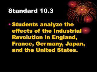 Standard 10.3