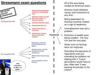 Stresemann exam questions
