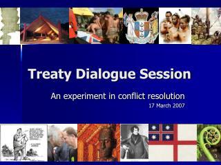 Treaty Dialogue Session