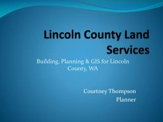 Lincoln County Land Services
