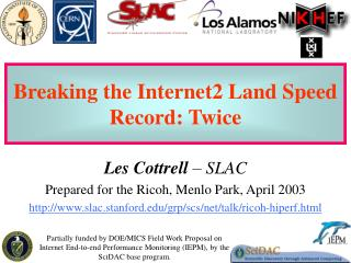 Breaking the Internet2 Land Speed Record: Twice